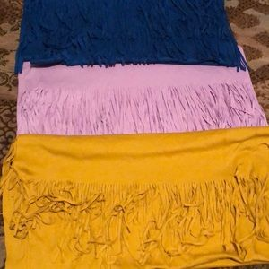 Lerner New York scarves like new perfect condition